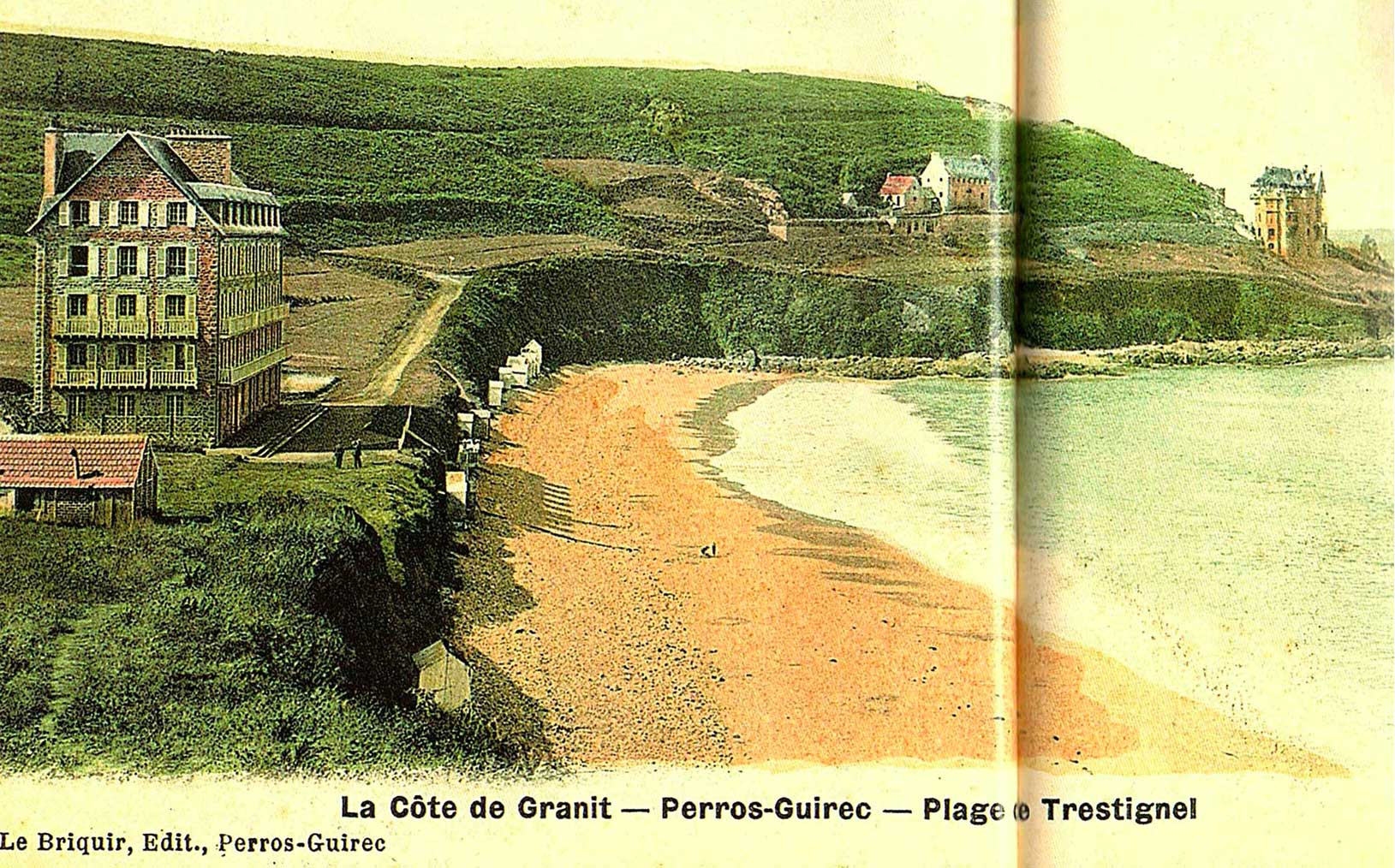 La côte de Granit Rose - Trestignel - Manoir du Sphinx