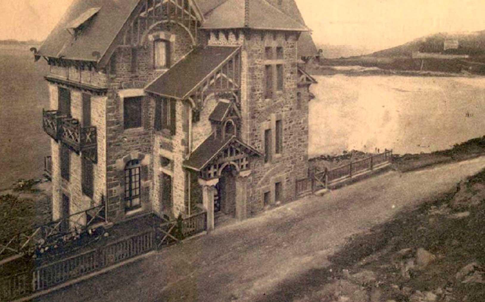 Manoir du Sphinx - années 1900